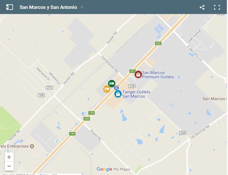 Cupones de descuento en Outlets San Marcos y San Antonio